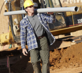 Wrangler National Campaign at RESOLUTE jobsite