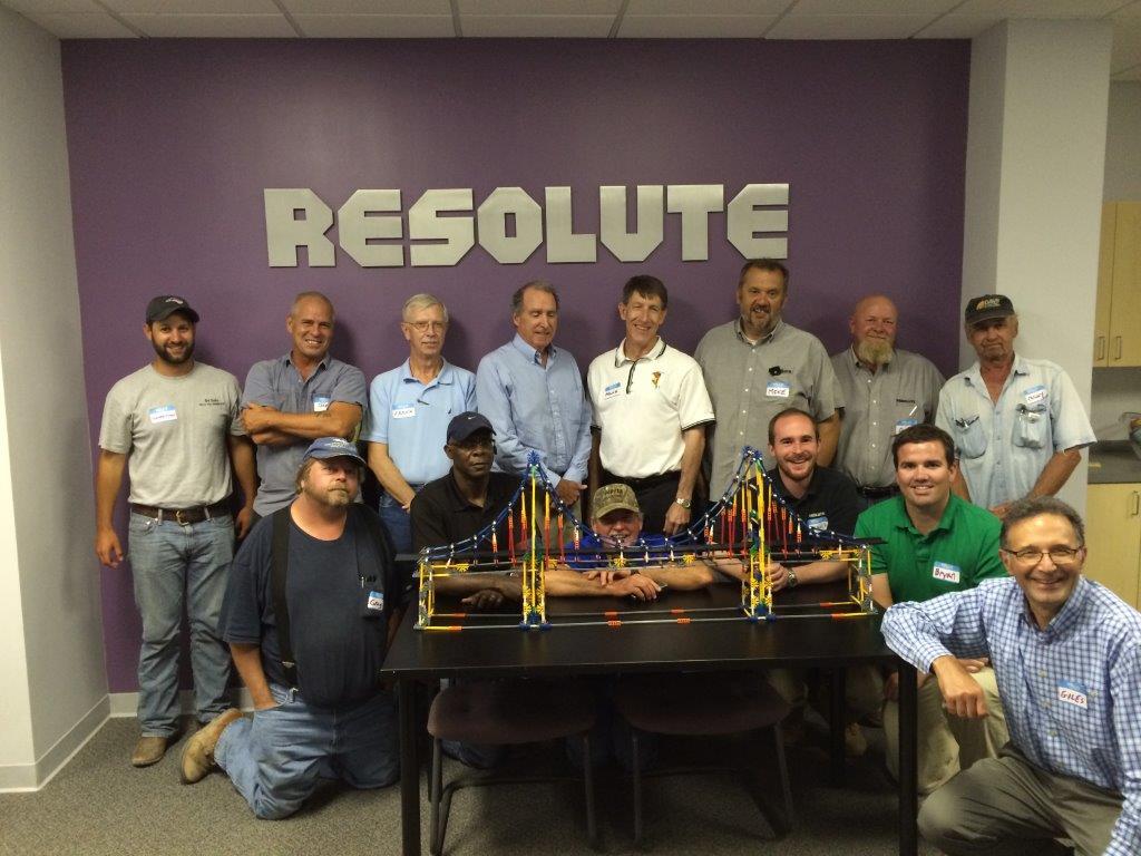 RESOLUTE Team Build