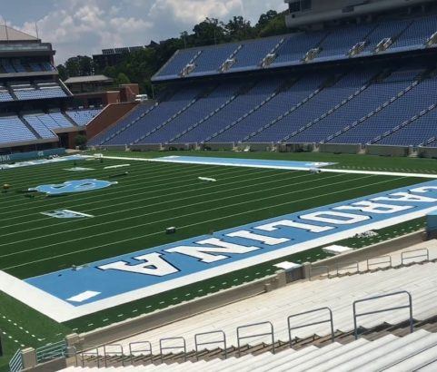 UNC CH Kenan Stadium Seating Improvements