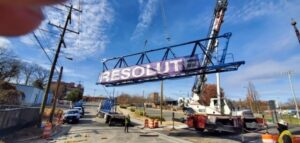 Resolute construction project